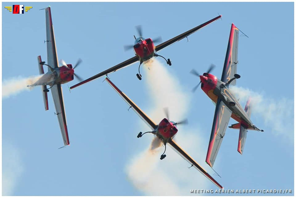 Great air show in Aqaba