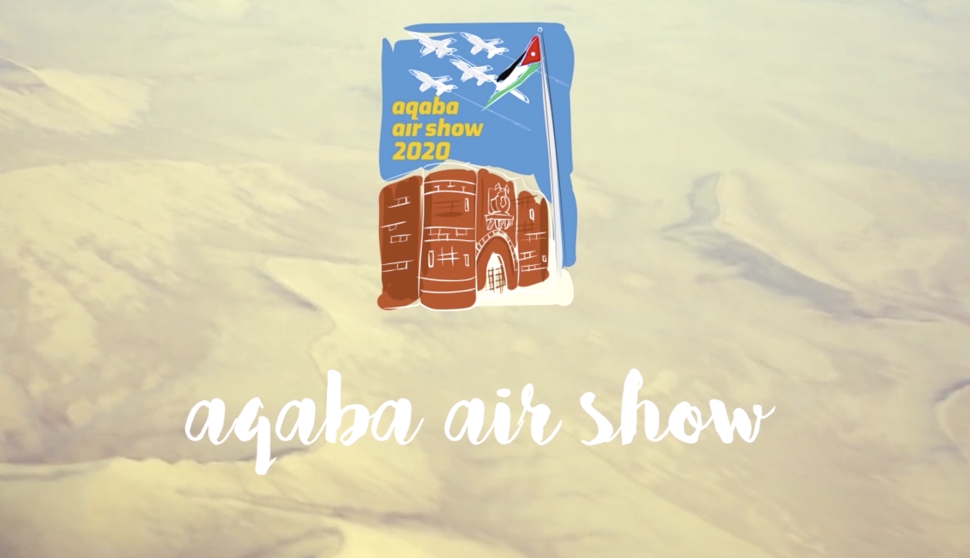Invitation to the Aqaba Air Show (video)