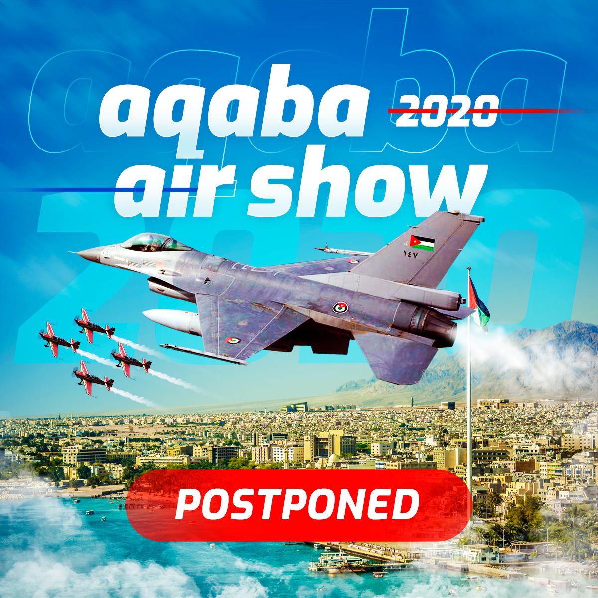 Aqaba Air Show postponed